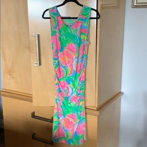 Lilly Pulitzer Gathered sides dress